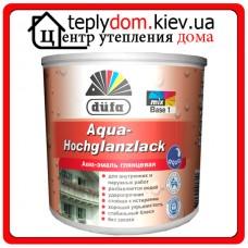 Аква-эмаль глянцевая Dufa Aqua-Hochglanzlack, 2,5 л
