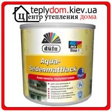 Аква-эмаль шелковисто-матовая Dufa Aqua-Seidenmattlack, 2,5 л