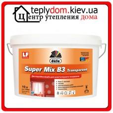 Краска дисперсионная для компьютерной колеровки Dufa Super Mix В3 Transparent, 10 л