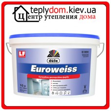 Краска дисперсионная Dufa Euroweiss D604, 10 л