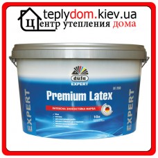 Латексная белая краска Dufa Premium Latex DE200, 10 л