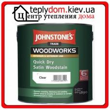 Декоративный антисептик для дерева Quick Dry Satin Woodstain, 2,5л