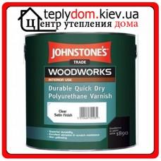 Лак панельный водный Quick Dry Polyurethane Varnish Clear Gloss, 2,5л