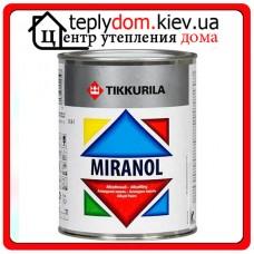 """Алкидная эмаль для металлических и деревянных поверхностей Miranol (Миранол), базис """"A"""", 0,9 л"""