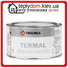 Алкидная краска для термостойких покрытий Termal (Термал), Цвет алюминиевый, 0,333 л