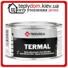 Алкидная краска для термостойких покрытий Termal (Термал), Цвет черный, 0,333 л