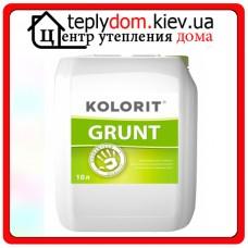 Грунтовка глубокого проникновения Kolorit Grunt, 10 л