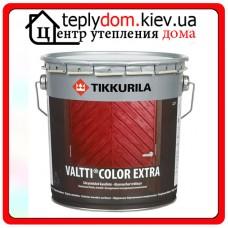 """Лессирующий антисептик для защиты наружных деревянных поверхностей Valtti Color Extra (Валтти Колор Экстра), базис """"ЕC"""", 0,9 л"""