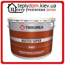 Противокоррозионный грунт быстрого высыхания для металлических поверхностей Rostex Super (Ростекс Супер), Цвет красно-коричневый, 1 л