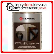 """Воск на водной основе для деревянных стен, мебели Ностальгия, базис """"ЕР"""", 0,225 л"""