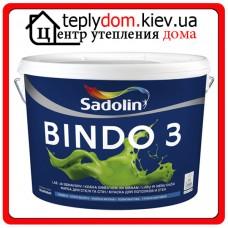Глубокоматовая краска Sadolin Bindo 3 BW (WO), 10 л