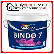 Матовая моющаяся краска Sadolin Bindo 7 BW (WO), 10 л