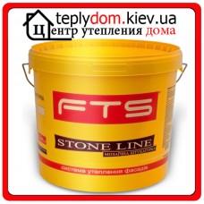FTS Мозаичная штукатурка Stone line decor, 25 кг