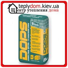 Клеящая смесь для блоков DOPS, 25 кг