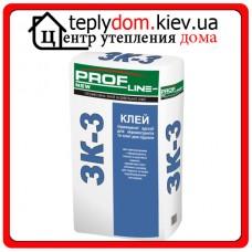 Profline NEW ЗК-3 Клей для плитки ГРЕС, 25 кг