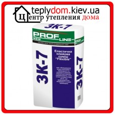 """Profline NEW ЗК-7 Клеевая смесь для плитки Эластичная """"Flexible"""", 25 кг"""