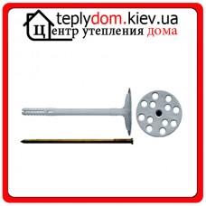 Wkret-met 10x110 Дюбель фасадный со стальным оцинкованным гвоздем