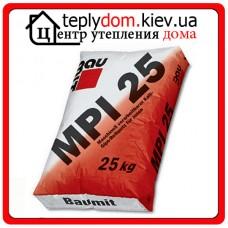 Baumit MPI-25 цементно-известковая штукатурная смесь для внутренних работ 25кг