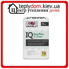 "Штукатурка цементная декоративная ""Камешковая"" IQ DecorPlast T-1,5 mm Vamiut"