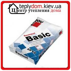 Baumit Basic клеящая смесь для керамической плитки, класс С1 25 кг