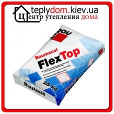 Baumit FlexTop эластичная клеящая смесь для всех видов плиток, класс С2ТЕ S1