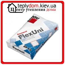 Baumit FlexUni эластичная клеящая смесь для приклеивания плитки из природного и искусственного камня, класс С2Т