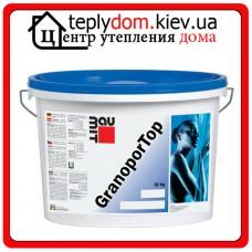"""Baumit Granopor Top акриловая штукатурка 1,5K """"барашек""""  (зерно 1,5мм) 25кг"""