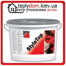 "Baumit StyleTop штукатурка насыщенных цветов 2K ""барашек""  (зерно 2,0мм) 25кг"