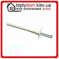 Дюбель 10х100 металлический гвоздь с термоголовкой (Украина)  уп. 100 шт