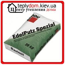 """Edelputz Spezial Grey минеральная штукатурка 2K """"барашек"""" (зерно 2,0мм) 25кг"""
