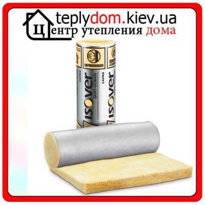 ISOVER Сауна/MUL Рулонная изоляция 1200х12500х50 мм 15 м2/уп.