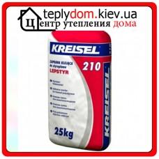 Клеевая смесь для крепления пенополистирольных плит Kreisel 210 25 кг