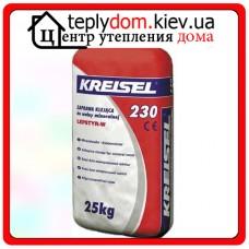 Клеевая смесь для крепления плит из минеральной ваты Kreisel 230 25 кг