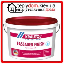 Krautol Fassaden Finish стирол-акриловая фасадная краска 18л