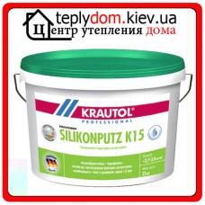 Krautol Krautherm Silikonputz K 15 силиконовая штукатурка барашек (1,5мм) 25кг