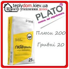 NIDA Gladka Гипсовая шпаклевка 25 кг