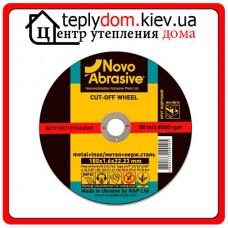 Отрезной круг по металлу Novoabrasive 41 14А 125x1,2x22,23мм