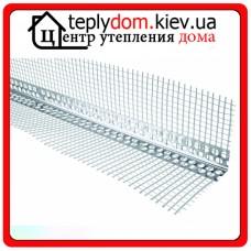 Перфорированный уголок фасадный (алюминиевый) 3 м