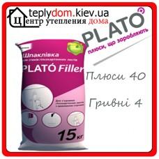 PLATÓ Filler Гипсовая шпаклёвка для швов ЛГК 15кг