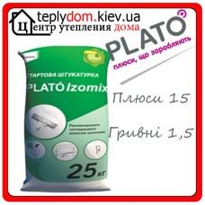 PLATÓ Izomix Гипсовая штукатурка 25кг