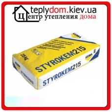 STYROKEM 215 (Украина) клей для пенополистирола 25 кг