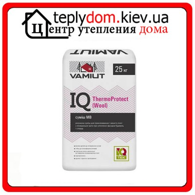 Смесь для приклеивания МВ IQ ThermoProtect (Wool) Vamiut
